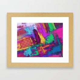 Urban angles Framed Art Print