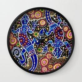 Murtoa Dreaming 2 Wall Clock