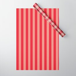 The Red Stripes Wrapping Paper
