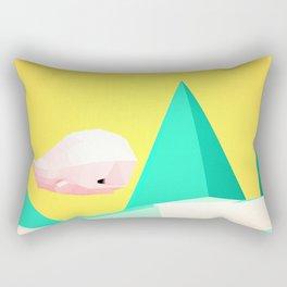 {W} Rectangular Pillow