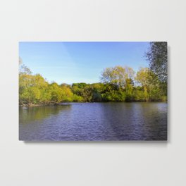 View across the water Metal Print