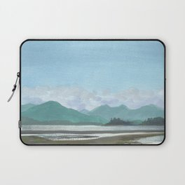 SITKA SOUND 03, Sitka Travel Sketch by Frank-Joseph Laptop Sleeve