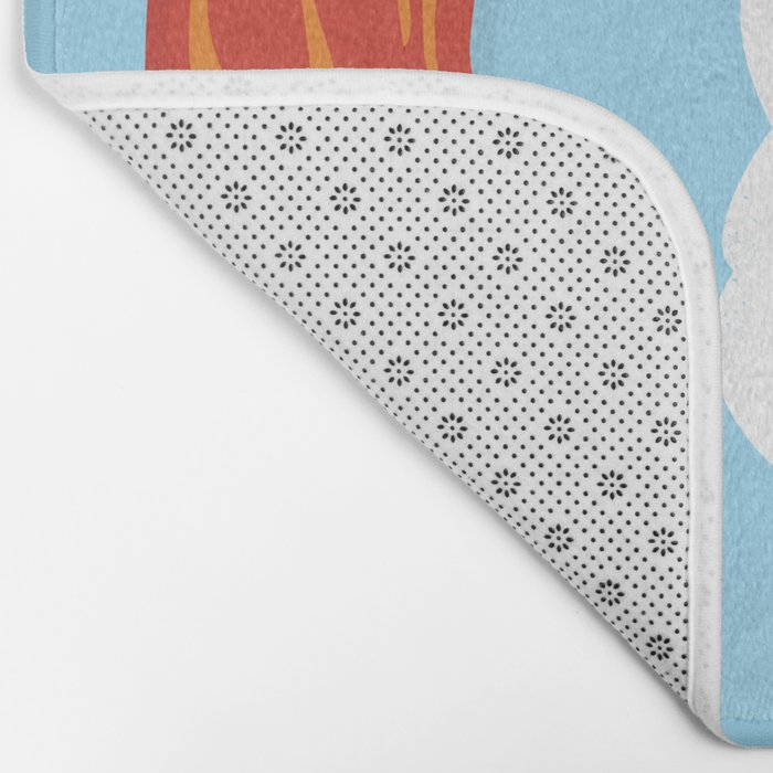 Would you be the bacon to my eggs? Bath Mat
