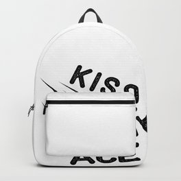 Kiss Ace Volleyball Volleyballer Gift Backpack