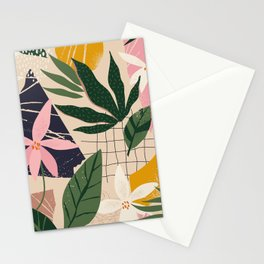 Palm Collage Stationery Cards