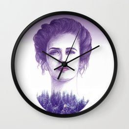 Eva Green/vanessa Wall Clock