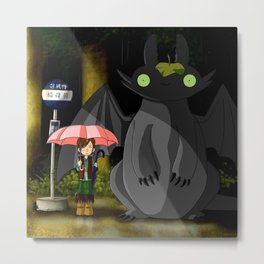 my neighbor dragon Metal Print