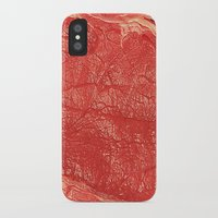 meat iPhone & iPod Cases featuring Meat by Norms