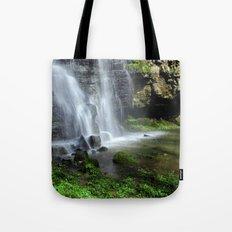 Waterfall at Swallet Falls Tote Bag