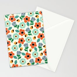 Floral Time Stationery Cards