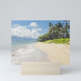 Kawililipoa Beach Kihei Maui Hawaii Mini Art Print