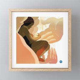 MOTHER Framed Mini Art Print