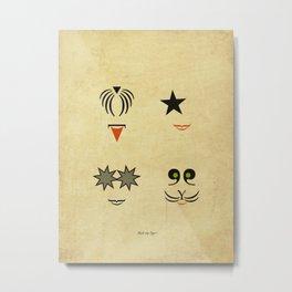 Rock my Type ! Metal Print