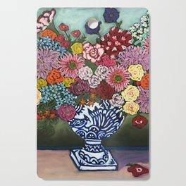 Amsterdam Flowers Cutting Board