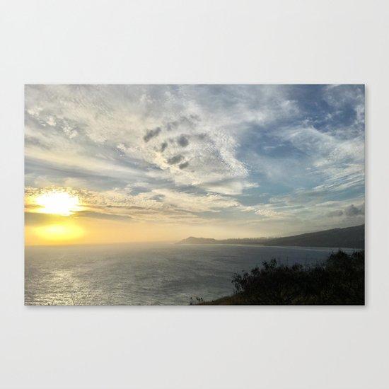 Hawaii View Canvas Print