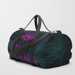 Angelic Guardian Purple Teal Duffle Bag