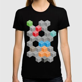 Isometric confusion T-shirt