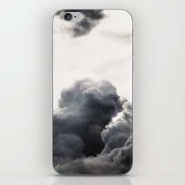 clouds pass by  iPhone Skin