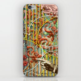 Prioritizing the Preservation of Favoured Struggles: Our Mesmerizing Bucket of Worms (2) iPhone Skin