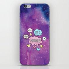 Hello, I'm a Booknerd - Purple iPhone & iPod Skin