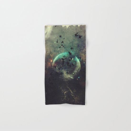βyrd wyrld Hand & Bath Towel