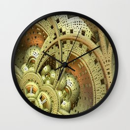 Industrial Steam Punk Cogwheels Wall Clock