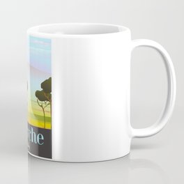 Marche Italy travel poster Coffee Mug