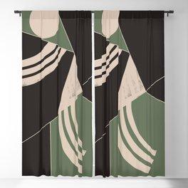 Minimal Abstract Art 68 Blackout Curtain