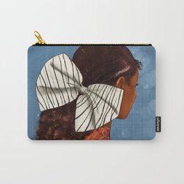 Of orange and stripes Carry-All Pouch