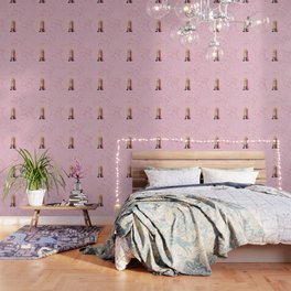 Pink Champagne Party Wallpaper