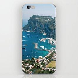 Italy, Capri Landscape View iPhone Skin