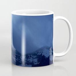 Mont Blanc Massif at night Coffee Mug