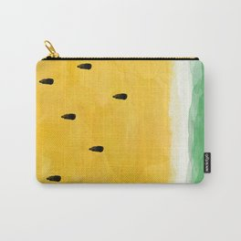Yellow Watermelon Abstract Carry-All Pouch