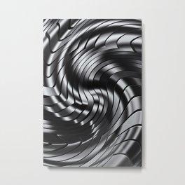BLACK & WHITE III Metal Print