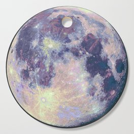 Blue moon Cutting Board