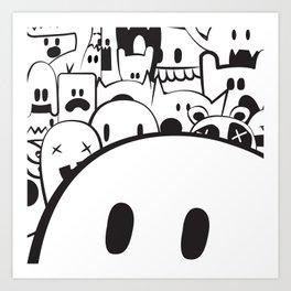 Monstah! Art Print