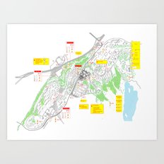 Haugerud Urban Center Art Print