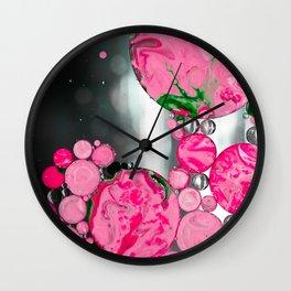 Jello Planets Wall Clock