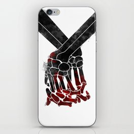 Death do us part iPhone Skin