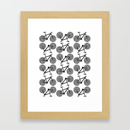 Bicycle Print Framed Art Print
