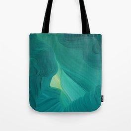 Aquamarine Vista Tote Bag