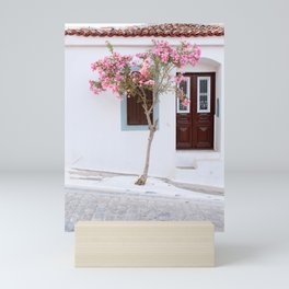 Pink Tree   Pastel   Colorful   Fine art   Travel photography   Poster   Art Print   Greece Mini Art Print