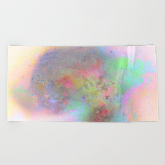 Everything is nothing 19 (therefore it was beautiful) Beach Towel