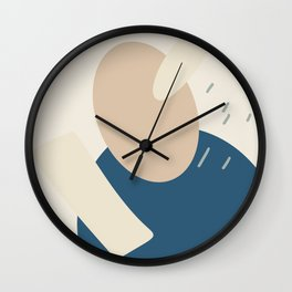 You're Abstract Shape V10 Wall Clock