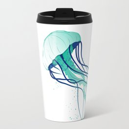 Jellyfish Blue Palette Travel Mug