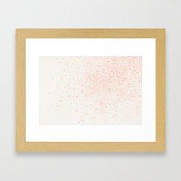 Dance of spring Framed Art Print