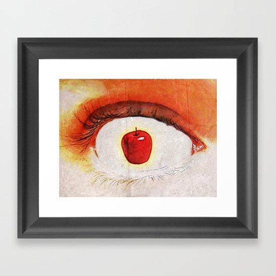 Apple of My Eye 000 Framed Art Print