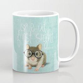 Little mouse in love Coffee Mug