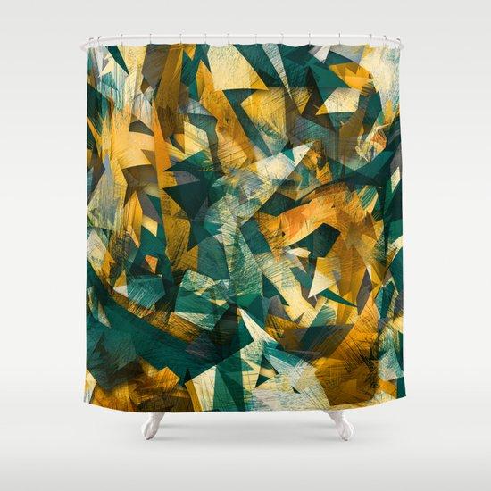 Raw Texture Shower Curtain