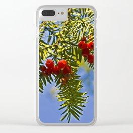 Conifer Clear iPhone Case